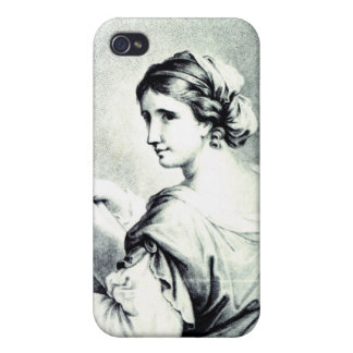 Sappho, engraved by Pye, 1774 Covers For iPhone 4
