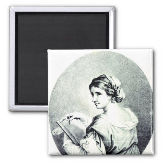 Sappho, engraved by Pye, 1774 Magnet