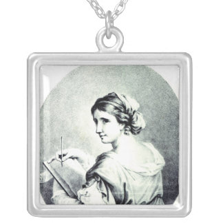 Sappho, engraved by Pye, 1774 Silver Plated Necklace