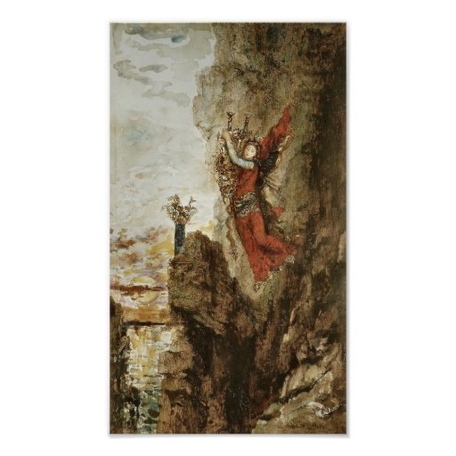 Sappho in Lefkada by Gustave Moreau Photo