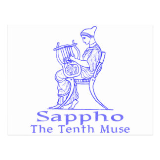 Sappho: The Tenth Muse Postcard
