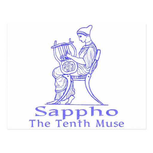 Sappho: The Tenth Muse Postcards