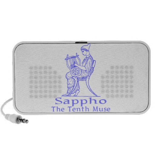 Sappho: The Tenth Muse Portable Speaker