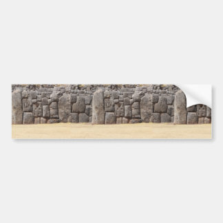 Saqsaywaman in Peru Bumper Sticker
