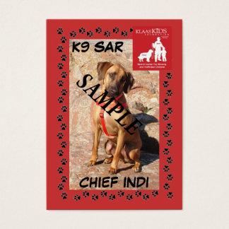 SAR K9 Trading Cards (Trailing)