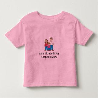 Sara Elizabeth, An Adoption Story Toddler T-Shirt