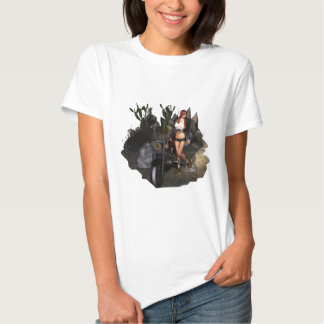 Sara in Desert T Shirts