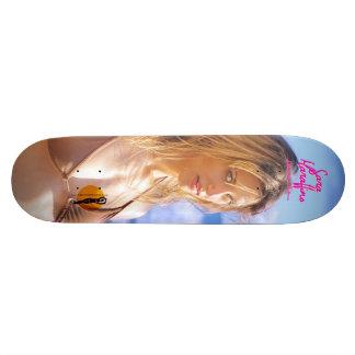 "Sara Maraffino ""Volto"" Custom Skate Board"