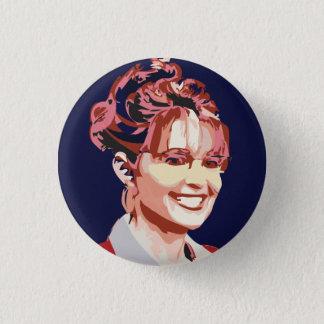 Sara Palin in 2012 3 Cm Round Badge