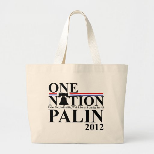 Sara Palin - One Nation Design - 2012 Canvas Bags