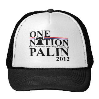 Sara Palin - One Nation Design - 2012 Mesh Hats