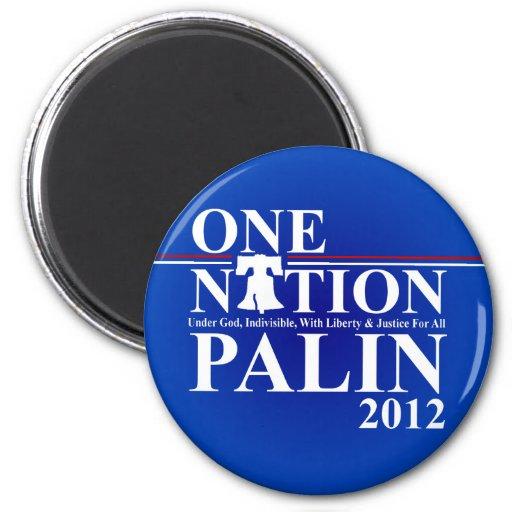 Sara Palin - One Nation Design - 2012 Refrigerator Magnet