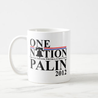 Sara Palin - One Nation Design - 2012 Coffee Mugs