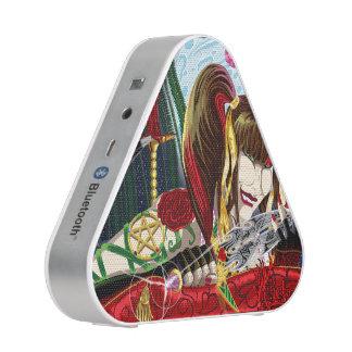 Sara Rose Series Bluetooth Silver Speakers