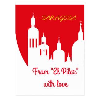 Saragossa, Spain Postcard