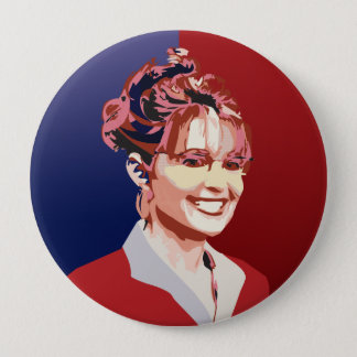 Sarah 10 Cm Round Badge