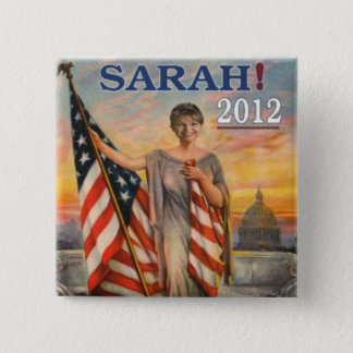 Sarah! 2012 15 cm square badge