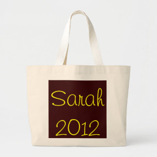 Sarah 2012 jumbo tote bag