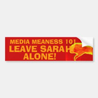 """""""Sarah Alone""""! Bumper Sticker"""
