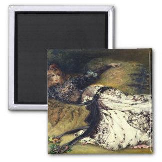 Sarah Bernhardt  1871 Square Magnet