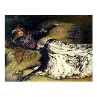 Sarah Bernhardt  1871 Postcard