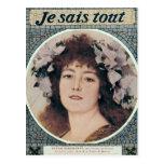 Sarah Bernhardt  in Gismonda Post Card