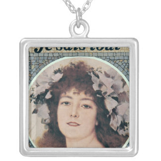 Sarah Bernhardt  in Gismonda Silver Plated Necklace