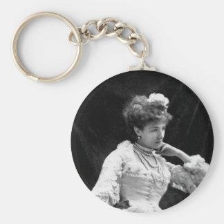 Sarah Bernhardt Vintage Photo - 1877 Keychains