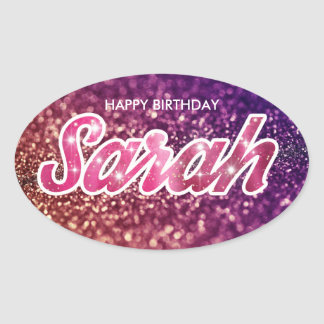 Sarah Birthday Sticker