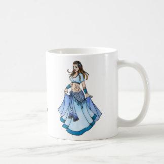Sarah Blue Bellydancer Coffee Mug