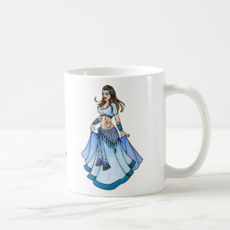 Sarah Blue Bellydancer Mugs