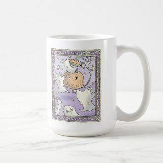 Sarah face pumpkins coffee mug