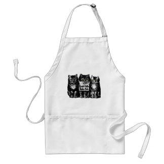 sarah hastes cats standard apron