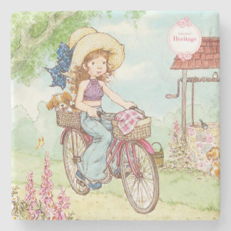 "Sarah Kay Heritage ""Bike Ride"" Drink Coaster"