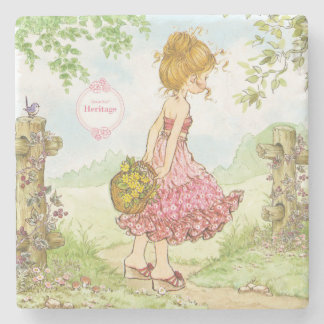 "Sarah Kay Heritage ""Walking"" Drink Coaster"