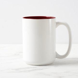 Sarah Maroon 15 oz Two-Tone Mug