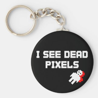 Sarah Marshall Dead Pixels Key Ring