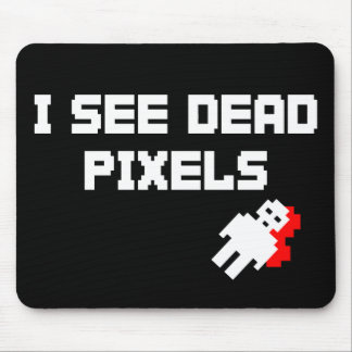 Sarah Marshall Dead Pixels Mouse Mat