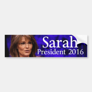Sarah Palin2016 Bumper Sticker
