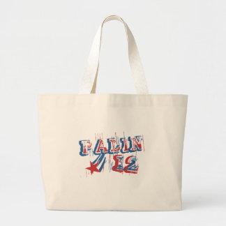 SARAH PALIN '12 TOTE BAG