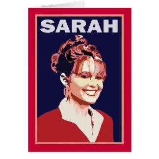 Sarah Palin - 2008 Vice President Card