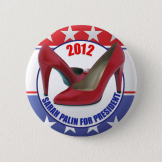 Sarah Palin 2012 6 Cm Round Badge
