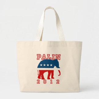 Sarah Palin 2012 Canvas Bag