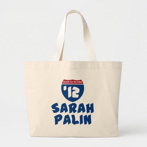 Sarah Palin 2012 Canvas Bags