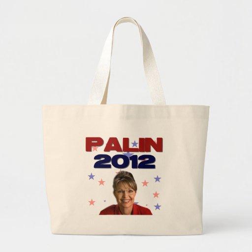 Sarah Palin 2012 Tote Bags