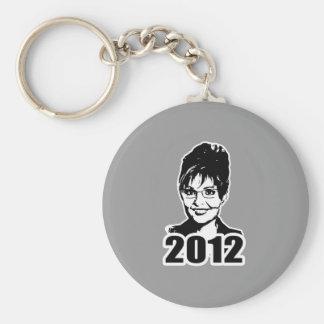 Sarah Palin 2012 Basic Round Button Key Ring