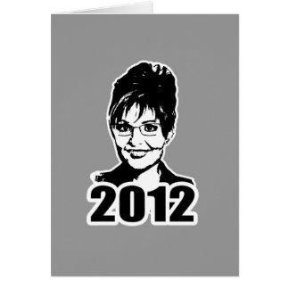 Sarah Palin 2012 Card