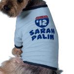 Sarah Palin 2012 Doggie Tee
