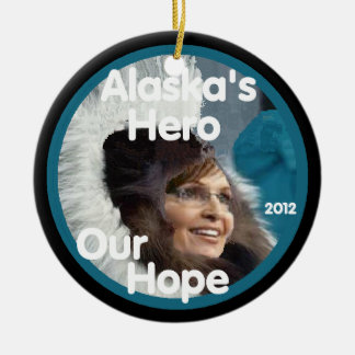 Sarah Palin 2012 Ornament