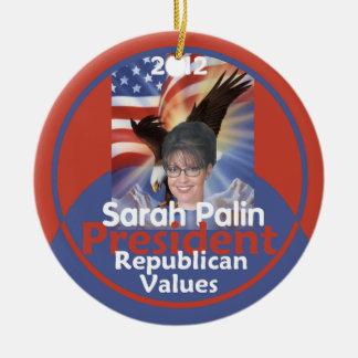 Sarah Palin 2012 Ornament